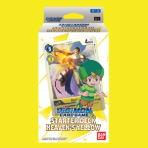 Digimon Card Game - Starter Deck Display Heaven's Yellow ST-3
